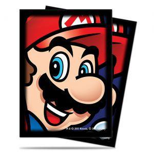 Protèges Cartes illustrées 65 Pochettes Ultra Pro - Nintendo - Mario - ACC