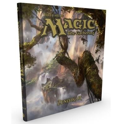 Livres Livre - The Art Of Magic - ZENDIKAR