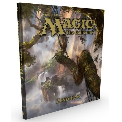 Livres Magic the Gathering Livre - The Art Of Magic - ZENDIKAR