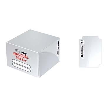 Boites de Rangements Accessoires Pour Cartes Pro Dual 180 - Blanc