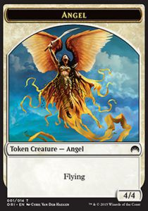 Tokens Magic Magic the Gathering Token/Jeton - Origines - Ange