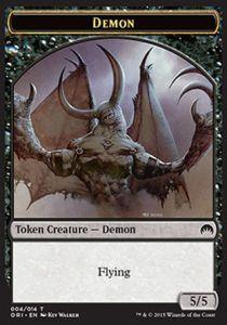 Tokens Magic Token/Jeton - Origines - Demon