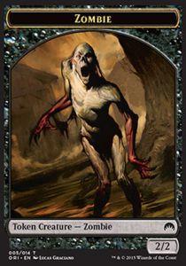 Tokens Magic Accessoires Pour Cartes Token/Jeton - Origines - Zombie