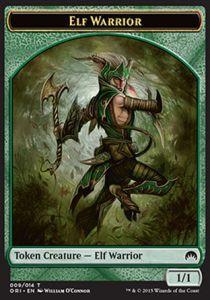 Tokens Magic Token/Jeton - Origines - Elfe