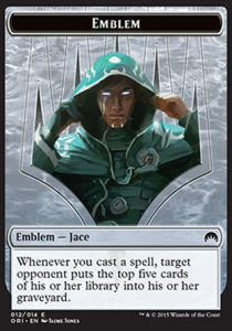 Tokens Magic Magic the Gathering Token/Jeton - Origines - Embleme de Jace