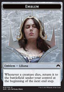Tokens Magic Accessoires Pour Cartes Token/Jeton - Origines - Embleme De Liliana