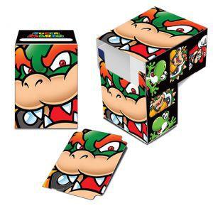 Boites de rangement illustrées Accessoires Pour Cartes Deck Box Ultra Pro - Nintendo - Bowser - ACC