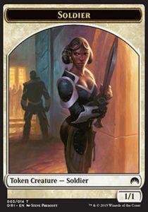 Tokens Magic Token/Jeton - Origines - Soldat