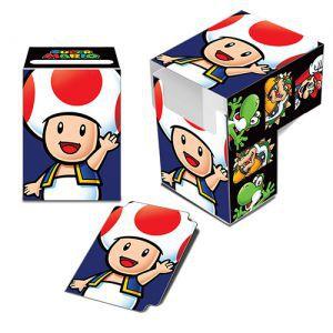 Boites de rangement illustrées Accessoires Pour Cartes Deck Box - Nintendo - Toad