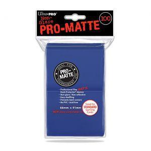 Protèges Cartes  100 pochettes - Pro Matte - Bleu