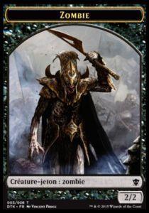 Tokens Magic Accessoires Pour Cartes Token/Jeton - Dragons De Tarkir - Zombie