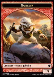 Token Magic Token/Jeton - Dragons De Tarkir - 06 Gobelin