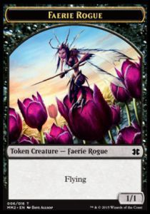 Tokens Magic Magic the Gathering Token/Jeton - Modern Masters 2015 - 06/16 Peuple Fée et Gredin