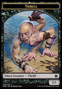 Tokens Magic Magic the Gathering Token/Jeton - Modern Masters 2015 - 08/16 Srane