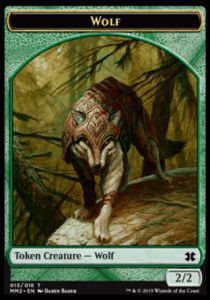 Token Magic Token/Jeton - Modern Masters 2015 - 13/16 Loup