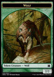 Tokens Magic Token/Jeton - Modern Masters 2015 - 13/16 Loup