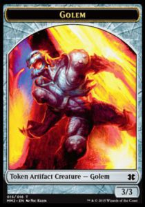 Tokens Magic Token/Jeton - Modern Masters 2015 - 15/16 Golem