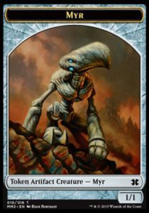 Tokens Magic Magic the Gathering Token/Jeton - Modern Masters 2015 - 16/16 Myr