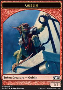 Tokens Magic Magic the Gathering Token/Jeton - Magic 2015 - Gobelin