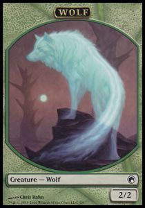 Token Magic Magic the Gathering Token/Jeton - Cicatrices De Mirrodin - Loup