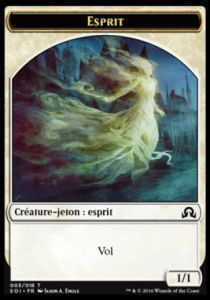 Tokens Magic Magic the Gathering Token/Jeton - Ténèbres Sur Innistrad - Esprit