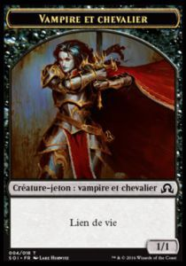 Tokens Magic Magic the Gathering Token/Jeton - Ténèbres sur Innistrad - Vampire et Chevalier