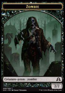 Tokens Magic Accessoires Pour Cartes Token/Jeton - Ténèbres Sur Innistrad - Zombie