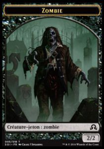 Tokens Magic Magic the Gathering Token/Jeton - Ténèbres sur Innistrad - 05/18 Zombie