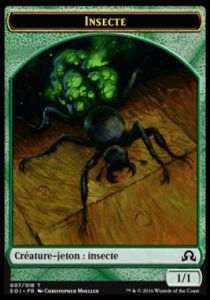 Tokens Magic Token/Jeton - Ténèbres Sur Innistrad - Insecte
