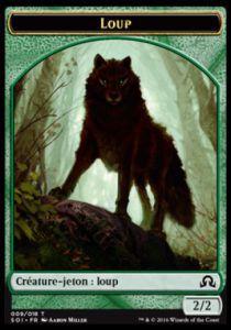 Tokens Magic Token/Jeton - Ténèbres sur Innistrad - 09/18 Loup