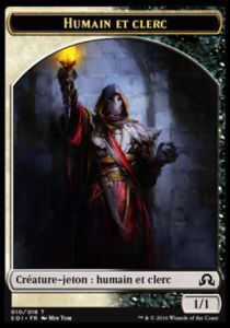 Tokens Magic Accessoires Pour Cartes Token/Jeton - Ténèbres sur Innistrad - Humain et Clerc