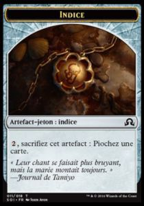 Tokens Magic Magic the Gathering Token/Jeton - Ténèbres sur Innistrad - 11/18 Indice
