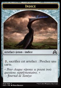 Tokens Magic Magic the Gathering Token/Jeton - Ténèbres sur Innistrad - Indice 12/18