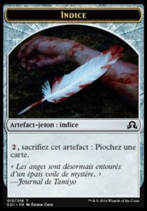 Tokens Magic Magic the Gathering Token/Jeton - Ténèbres sur Innistrad - 13/18 Indice