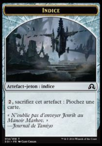 Tokens Magic Magic the Gathering Token/Jeton - Ténèbres sur Innistrad - Indice 14/18