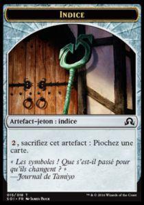 Token Magic Token/Jeton - Ténèbres sur Innistrad - 15/18 Indice