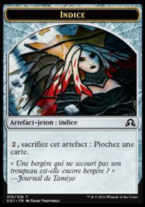 Token Magic Magic the Gathering Token/Jeton - Ténèbres sur Innistrad - 16/18 Indice
