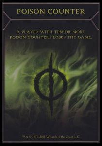 Tokens Magic Accessoires Pour Cartes Token/Jeton - Nouvelle Phyrexia - Marqueur Poison
