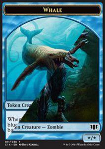Token Magic Token/Jeton - Commander 2014 - Double : Baleine / Zombie U