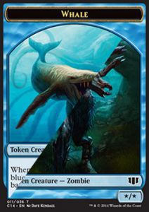 Tokens Magic Token/Jeton - Commander 2014 - Double : Baleine / Zombie U