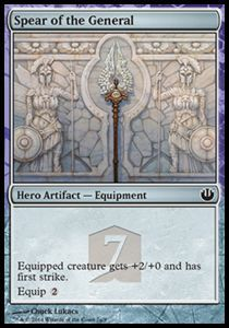 Tokens Magic Magic the Gathering Token/Jeton - Theros Héros - La Lance De La Générale