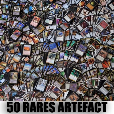 Lot de Cartes Lot de 50 rares Artefact (lot A)