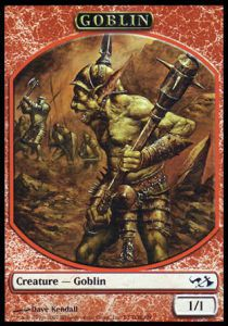 Tokens Magic Magic the Gathering Token/Jeton - Duel Decks: Elves vs Goblins n°3 - Goblin