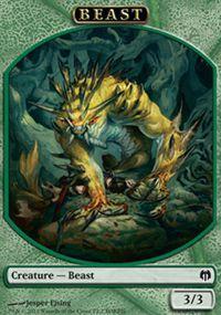 Tokens Magic Token/Jeton - Duel Decks: Heroes vs Monsters n°2 - Beast