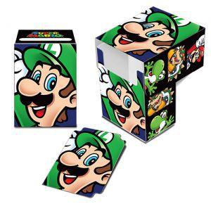 Boites de rangement illustrées Accessoires Pour Cartes Deck Box - Nintendo - Luigi