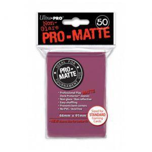 Protèges Cartes Accessoires Pour Cartes 50 pochettes Ultra Pro Matte - Blackberry - ACC