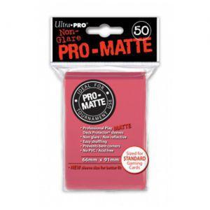 Protèges Cartes  50 pochettes - Pro Matte - Fuchia