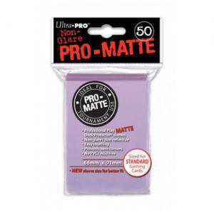Protèges Cartes Accessoires Pour Cartes 50 pochettes - Pro Matte - Lila