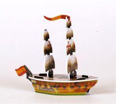 Pirates of the Barbary Coast Pirates 065 - La Serpiente (Ship) - Pirates of the Barbary Coast