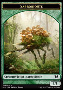 Tokens Magic Accessoires Pour Cartes Token/Jeton - Commander 2015 - Double :Saprobionte/Serpent